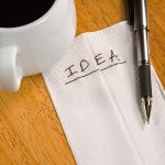 Organize your big ideas with a Paper Napkin Plan